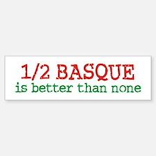 Half Basque Bumper Bumper Sticker