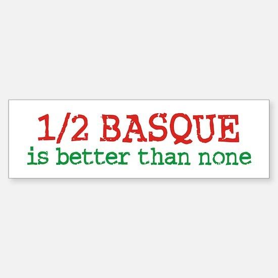 Half Basque Sticker (Bumper)