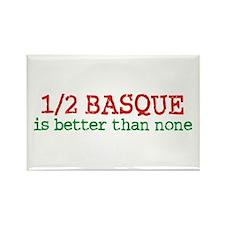 Half Basque Rectangle Magnet