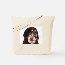 Cute Tibetan mastiffs Tote Bag