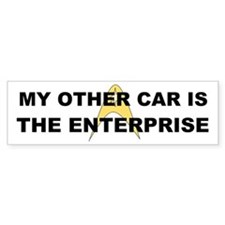 My other car is the Enterprise Bumper Sticker