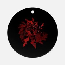 Vampire Bats Red Ornament (Round)