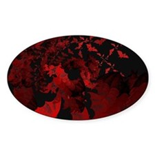 Vampire Bats Red Decal