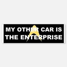 My other car is the Enterprise Sticker (Bumper)
