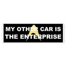 My other car is the Enterprise Stickers