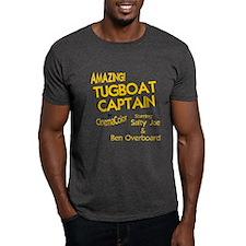 funny tugboat captain T-Shirt