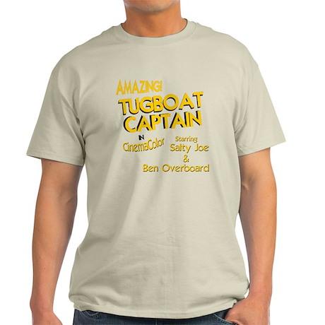 funny tugboat captain Light T-Shirt