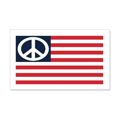 "American Peace Flag 22"" Graphic Wall Art"