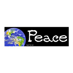World Peace 20x6 Peel and Stick Wall Art