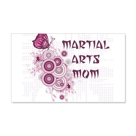 Martial Arts Mom 22x14 Wall Peel