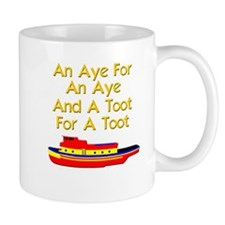 funny tugboat Mug