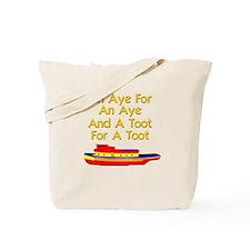 funny tugboat Tote Bag