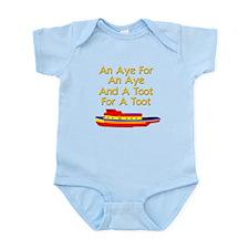funny tugboat Infant Bodysuit