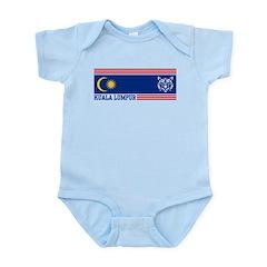 Kuala Lumpur Infant Bodysuit
