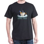Chill Out Penguin Dark T-Shirt