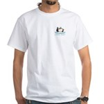 Chill Out Penguin White T-Shirt