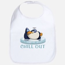 Chill Out Penguin Bib