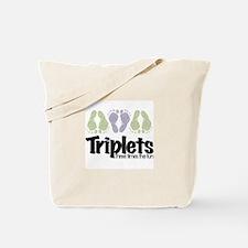 Triplets (unisex) Three Times Tote Bag
