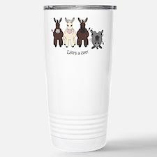 Med. Miniature Donkey Travel Mug