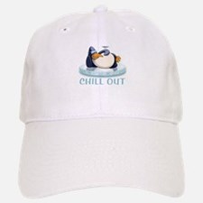 Chill Out Penguin Baseball Baseball Cap