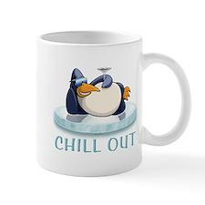 Chill Out Penguin Mug