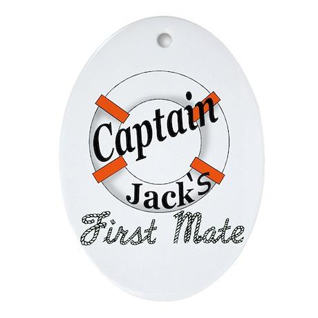 Captain Jack Ornament (Oval)
