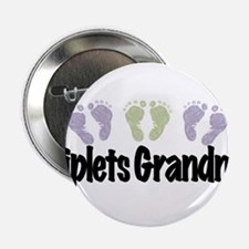 "Triplets Grandma (Unisex) 2.25"" Button"
