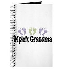 Triplets Grandma (Unisex) Journal