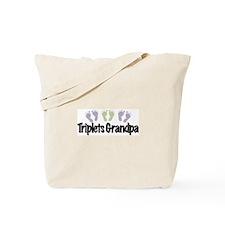 Triplets Grandpa (Unisex) Tote Bag