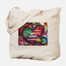 O'Keefe Quote Tote Bag