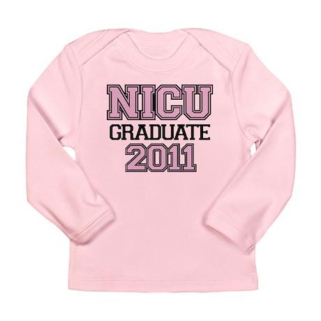 NICU Graduate 2011 Long Sleeve Infant T-Shirt