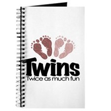 Twins (Girl) - Twice the Fun Journal