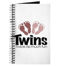 Twins (Girl) - Twice the Fun Journal