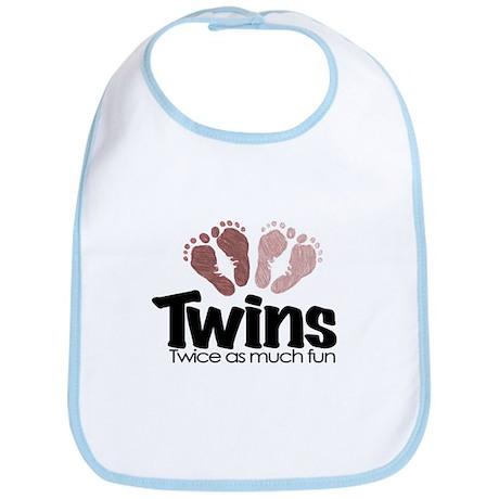 Twins (Girl) - Twice the Fun Bib