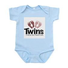 Twins (Girl) - Twice the Fun Infant Bodysuit