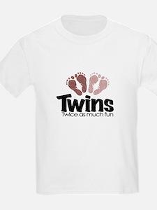Twins (Girl) - Twice the Fun T-Shirt