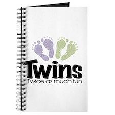 Twin (Unisex) - Twice the Fun Journal