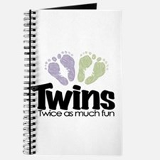 Twin (Unisex) - Twice the Fun Journal