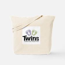 Twin (Unisex) - Twice the Fun Tote Bag