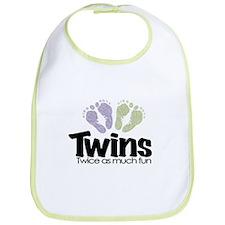 Twin (Unisex) - Twice the Fun Bib