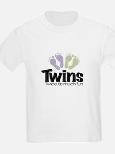 Twin (Unisex) - Twice the Fun T-Shirt
