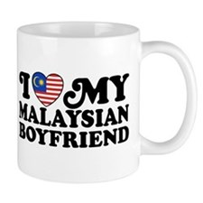 I Love My Malaysian Boyfriend Small Mug