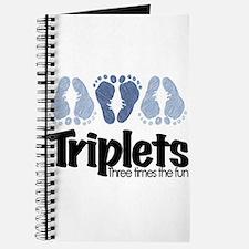 Triplet Boys - More Fun Journal