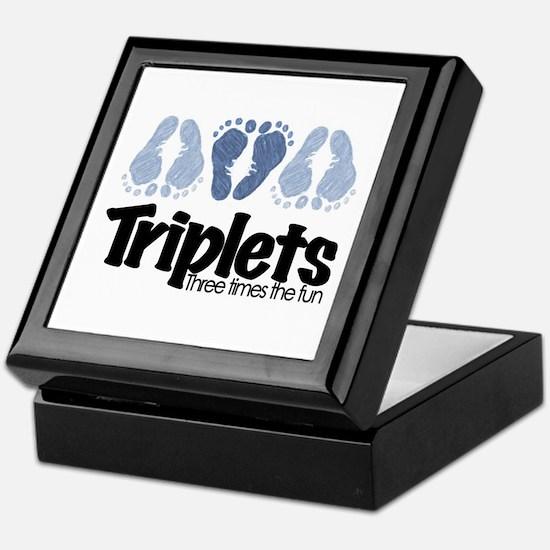 Triplet Boys - More Fun Keepsake Box