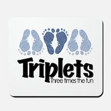 Triplet Boys - More Fun Mousepad