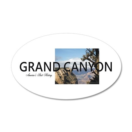 ABH Grand Canyon 20x12 Oval Wall Decal