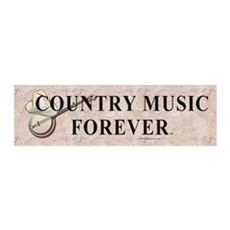 Country Music Forever Wall Decal