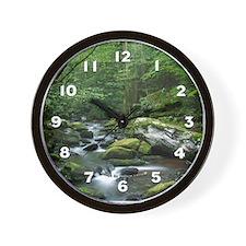 Rock Stream Gatlinburg TN Wall Clock