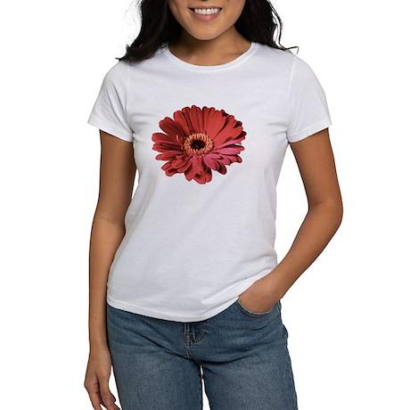 Red gerbera flower Women's T-Shirt