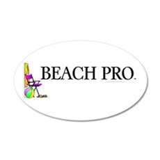 Beach Pro 22x14 Oval Wall Peel